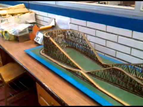 Modelo experimental de monta a rusa youtube Modelo de viviendas para construir