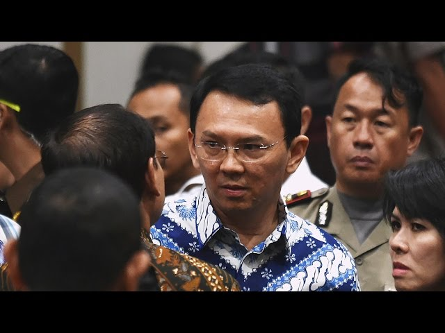 Jakarta governor Ahok jailed two years for blasphemy