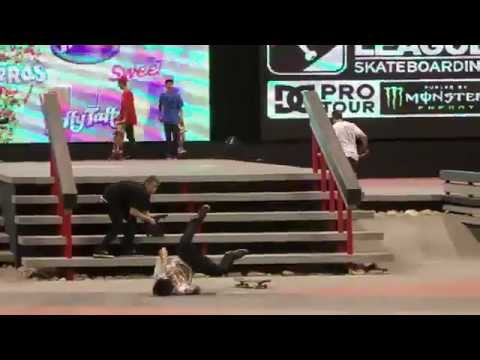 ALMOST! Chris Cole Switch Fs Flip 360 Stairs