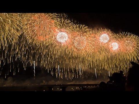 10年目の「フェニックス」夜空に舞う 長岡大花火大会
