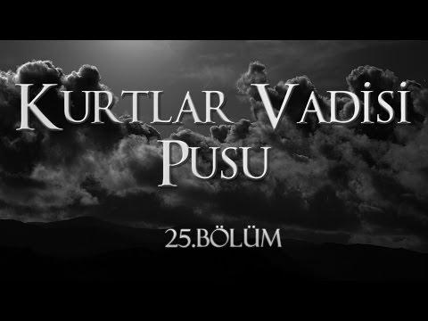 Kurtlar Vadisi Pusu 25. Bölüm HD Tek Parça İzle