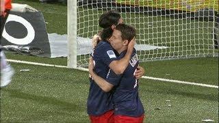 Super volée Kevin GAMEIRO (65') - FC Lorient - Paris Saint-Germain (1-3) / 2012-13