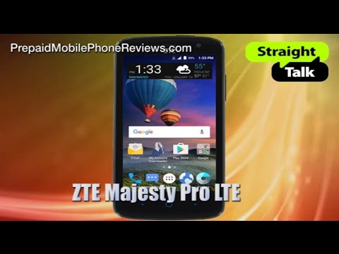 Straight Talk ZTE Majesty Pro LTE