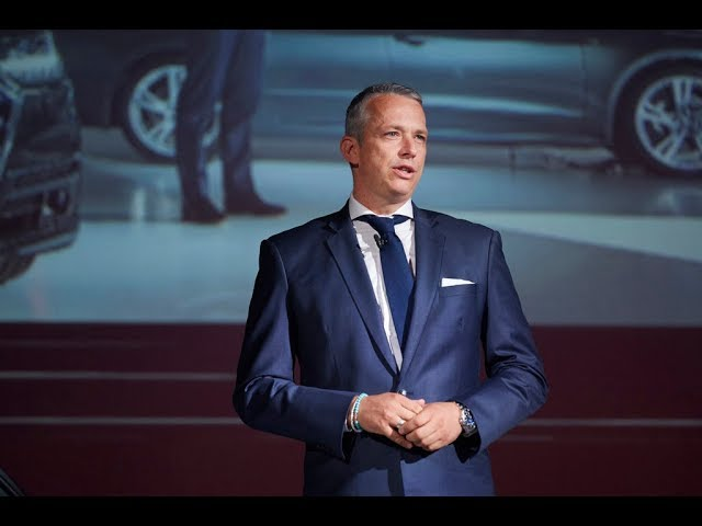 《Audi A8 / A7 Sportback Press Conference》アウディ ジャパン株式会社 フィリップ ノアック代表取締役社長によるプレゼンテーション