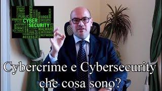 Cybersecurity e Cybercrime, di che cosa si tratta? Avvocato Cristiano Cominotto