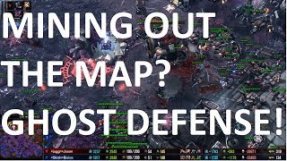 Starcraft 2 - TvZ - MINING OUT THE MAP! - Jason vs Bioice on Lost and Found