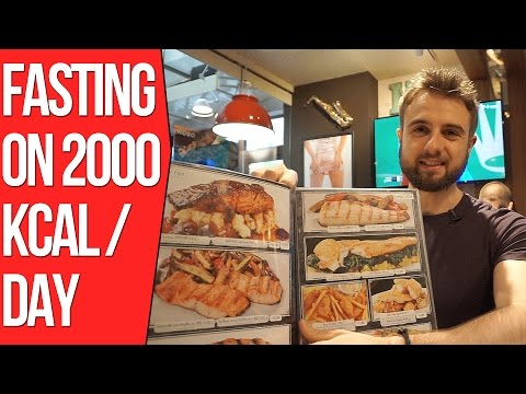 Intermittent Fasting - 2000 Calories Full Day of Eating for Fat Loss And Cutting