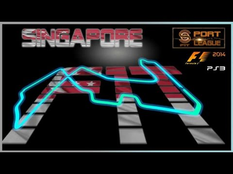 F1T Sport League #11 GP Singapore F1 2014