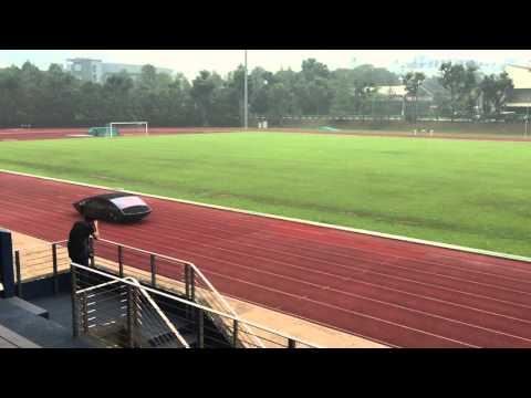 Singapore Polytechnic's self-built solar car SunSPEC4