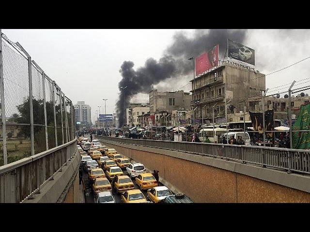 بمبگذاری در بغداد جان ۱۲تن را گرفت