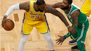 Celtics defense could mean low scoring day for Lakers, and today's NBA odds and best bets