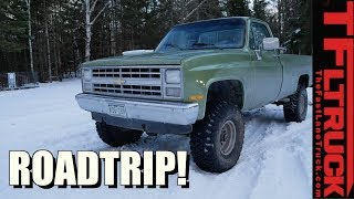 24 Hours Straight in a 1985 Chevy K10 - What Can Go Wrong?