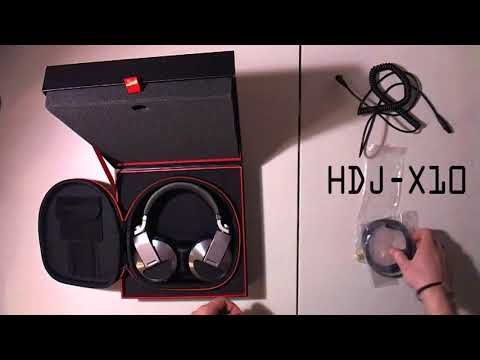 Pioneer HDJ-X Headphone Comparison - What's the difference between X5, X7 & X10?