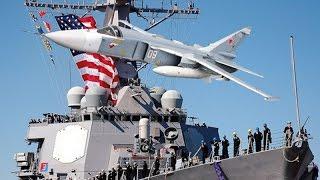 Российский СУ 24 навёл ужас на эсминец Дональд Кук  Дополнено информацией от Путина.