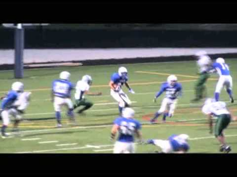 George Vidas #84 - Football Recruiting Video - Taft High School Chicago