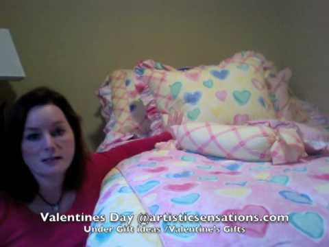 Valentines Day Gift Ideas and Teen Bedding at ArtisticSensations.com