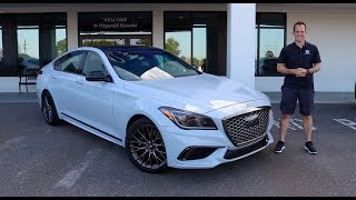 Is 2019 Genesis G80 3.3T Sport the BEST luxury car for the MONEY?