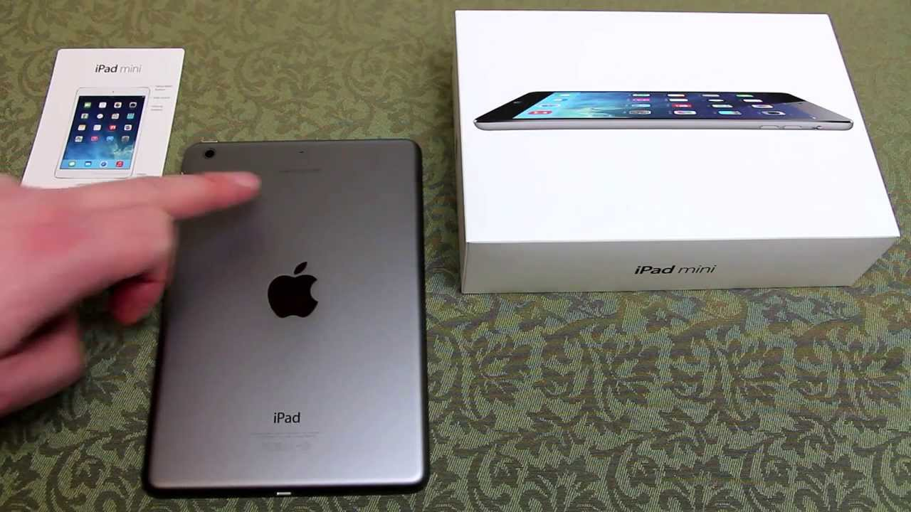 Box of Ipad Mini With Retina Display Ipad Mini Retina Free