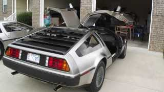 Delorean VIN 905, Stage 2 PRV engine, 5 speed.