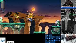 Qttsix|Mega Man 11 Any% Normal No OoB Speedrun in 34:23 PB in 2018/11/10