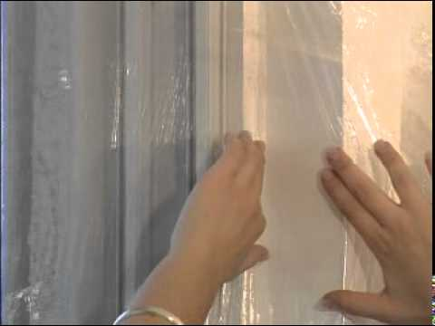 How to install weatherstripping-Shrink Film Window Kit