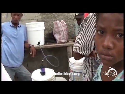 Bellot Idovia Foundation's Water Filter Workshop - La Tortue, Haiti