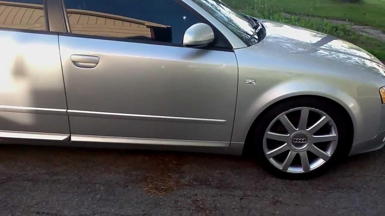 2004 Audi A4 Ultra Sport 1 8t Quattro S Line B6 Youtube