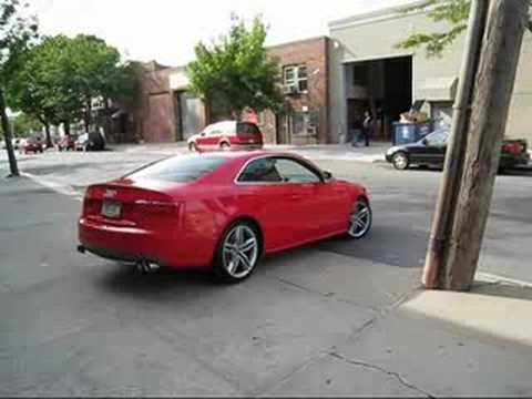 2008 AUDI S5 AWE EXHAUST
