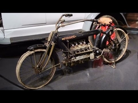 1912 Pierce-Arrow Motorcycle Original Condition Museum of Transportation St Louis