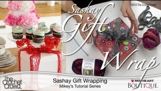 Learn How To Wrap: Sashay Gift Boxes