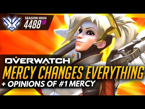 Overwatch | New Mercy 2.0 Changes EVERYTHING - Opinions Of #1 World Mercy (ft EeveeA)