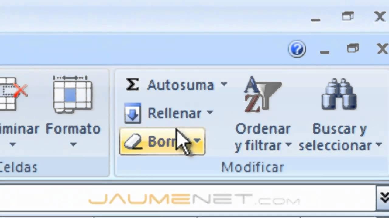 Series en Excel Excel 2007 Rellenar Series