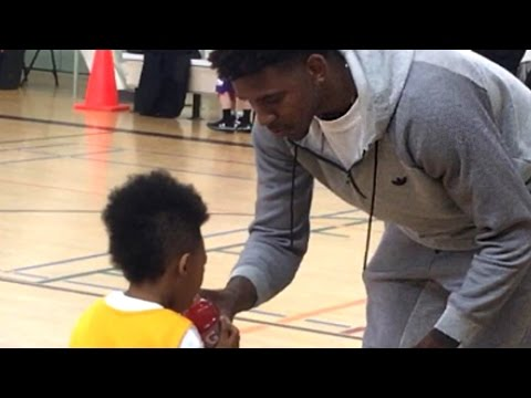 Nick Young's Son Gets Buckets In First Basketball Game
