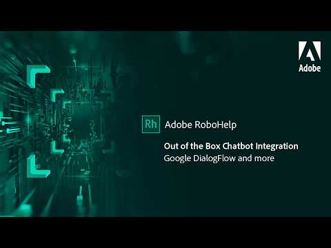Out of the box chatbot integration in Adobe RoboHelp