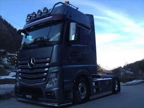 mb actros mp4 tuning jenal transporte part 1 youtube
