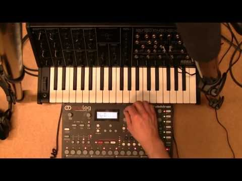 Korg MS20 Mini Processed and CV Sequenced by Elektron Analog Four