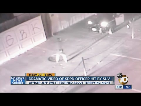 Suspect steals squad, runs over Calif. cop