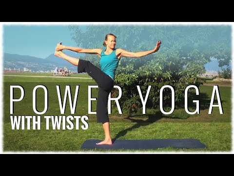 Power Yoga with Twists with Katie Kreter Image 1