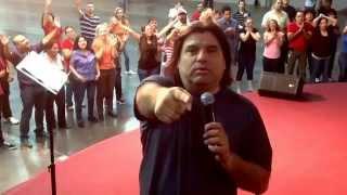 Apostol Jonatan Meza profetiza sobre Cesar Puentes San Diego Ca, inicio ! De su Gran Ministerio!!