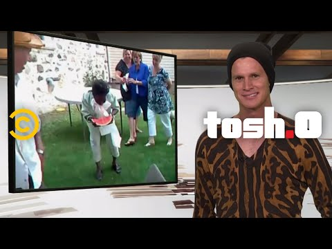 Tosh.0: Is it Racist? - Watermelon Eating Contest