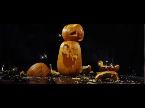 Smashing Pumpkins in slow motion - 1000 FPS