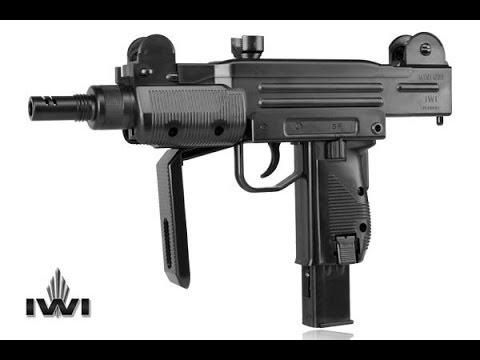 Wiatrówka - pistolet maszynowy IWI Mini UZI