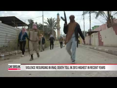 Violence resurging in Iraq with death toll in 2013 highest in years