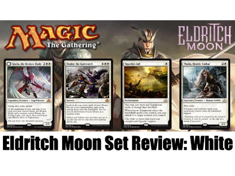 MTG Eldritch Moon Full Set Review: White! Magic the Gathering!