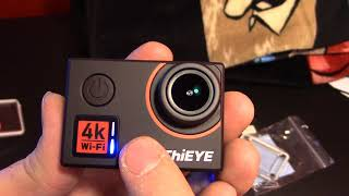 ThiEye T5 Edge 4k Action Camera Review & Footage
