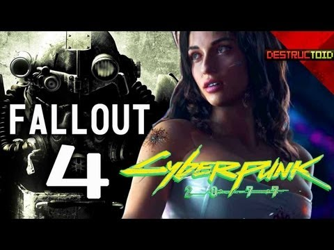 Fallout 4: COMING SOON? Cyberpunk 2077 TEASER, Razer Edge HANDS-ON IMPRESSIONS & more!