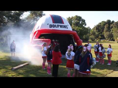 Hilton Head Preparatory School Football Tunnel - Homecoming - 10/26/2013