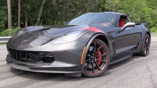2017 Chevrolet Corvette Grand Sport - Start Up, Track Test & In Depth Review