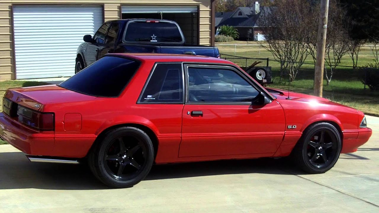 89 Mustang 5.0 Hatchback 1993 Ford Mustang 5.0 lx Coupe
