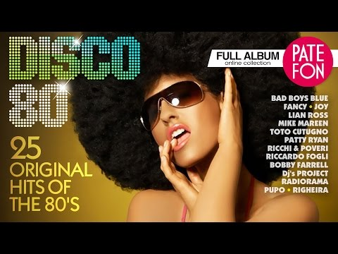 DISCO-80 /Various artists/ 25 ORIGINAL HITS OF THE 80'S